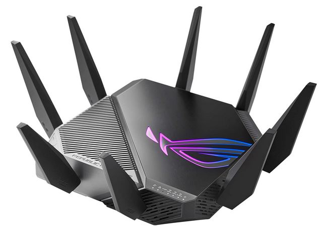 ASUS WiFi 6E Gaming Router (ROG Rapture GT-AXE11000)