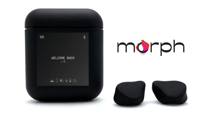Morph InfiniConnect Bluetooth 5.2 Earbuds with Infinite Switching