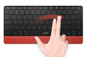 MOKIBO MKB316 Touchpad Fusion Keyboard for iOS, Android