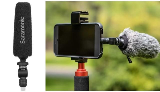 Saramonic USB-C Micro-Shotgun Microphone for Android
