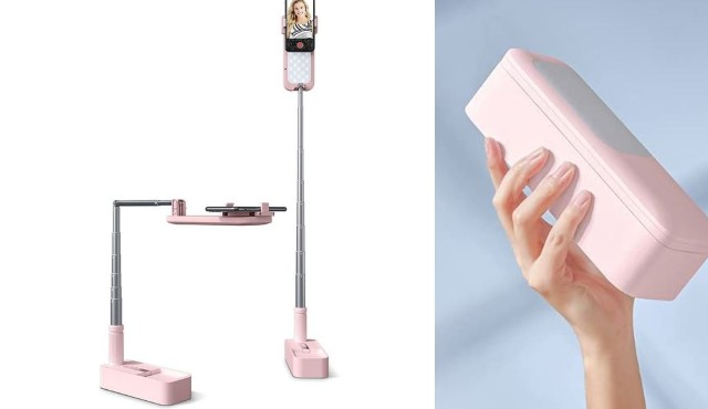 Viozon Extendable Smartphone Stand with LED